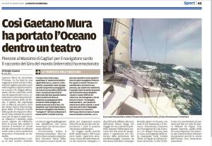 L'articolo di Sergio Casano su La Nuova Sardegna